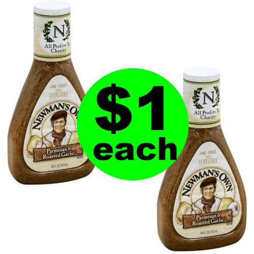 🥗 $1 Newman's Own Dressing At Publix (Save 75 % Off After Ibotta)! (7/21-8/3)
