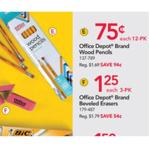 75¢ Wood Pencil 12 Packs! ✍️ Office Depot/OfficeMax Back To School Deals (Ends 7/21)