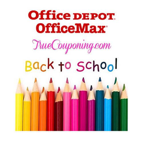 BTS Deal: Office Depot/Office Max Back To School Deals! 📚 (8/19-8/25)