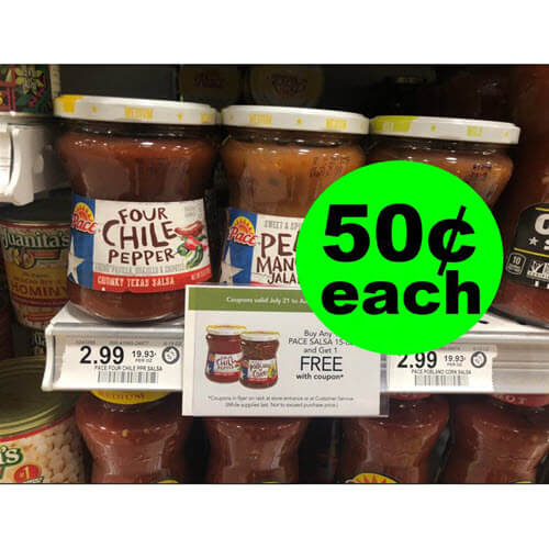 Print For 50¢ Pace Texas Salsa ?️ At Publix! (Ends 8/3)