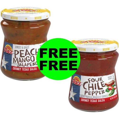 """Clip"" Digital Coupon For FREE-FREE Pace Salsa 💃 At Publix! (7/21-8/3)"