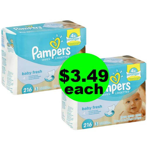 👶 Stock Up On $3.49 Pampers Wipes Refills At Publix! (Ends 7/10 Or 7/11)
