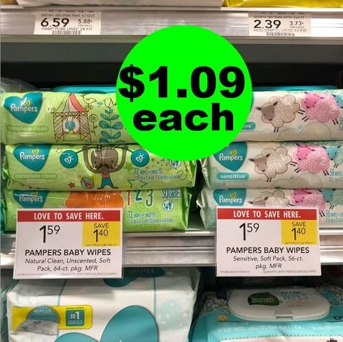 Publix Deal: ? $1.09 Pampers Wipes At Publix! (Ends 12/24 or 12/26)