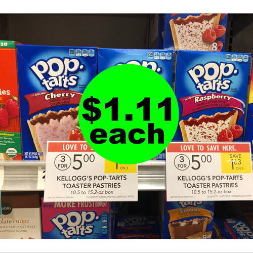 Publix Deal: $1.11 Pop-Tarts Toaster Pastries ?! (9/12-9/18 or 9/13-9/19)
