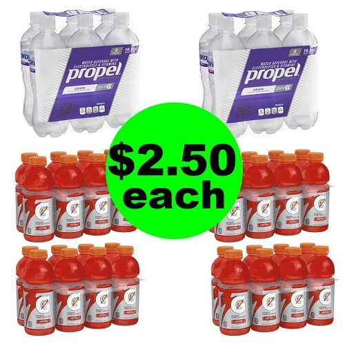 Publix Deal: ⚽ One Day Only Deal – $2.50 Propel & Gatorade Multipacks! (Saturday, 1/19 Only)