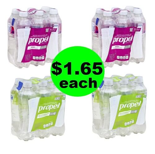 🥤 $1.65 Propel Water 6 Packs (After Ibotta) At Publix! (Ends 7/24 or 7/25)