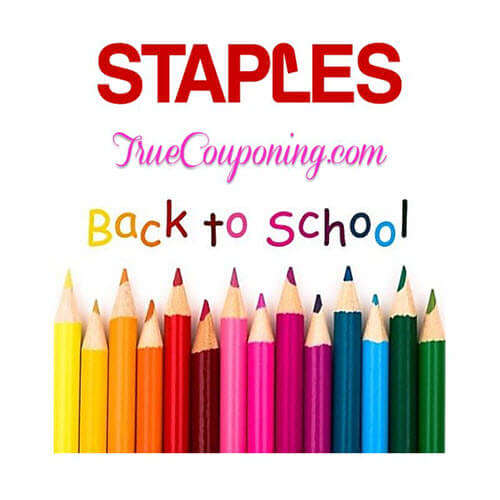 BTS Deal: Staples Back To School Deals! (8/19-8/25) 🏫 (And $10/$50 Coupon!)