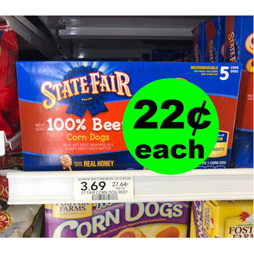 Sneak Peek Publix Deal: ? 22¢ State Fair Corn Dogs (Save 94% Off, After Ibotta)! (9/19 or 9/20-9/23)