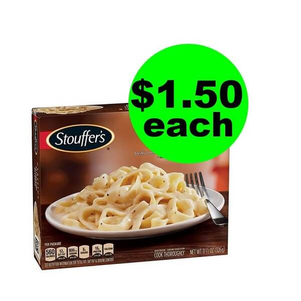 Publix Deal: $1.50 Stouffer's Entrees (After Ibotta)! (Ends 6/11 Or 6/12)