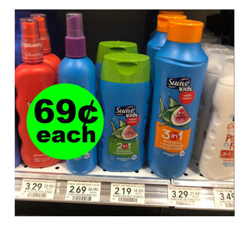 Publix Deal: 🧒🏽 69¢ Suave Kids Hair Care! (9/23-10/5)