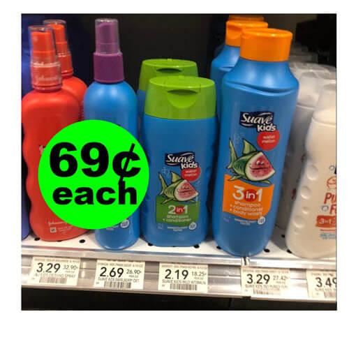 Publix Deal: 👧🏻 69¢ Suave Kids Hair Care! (5/18-5/26)
