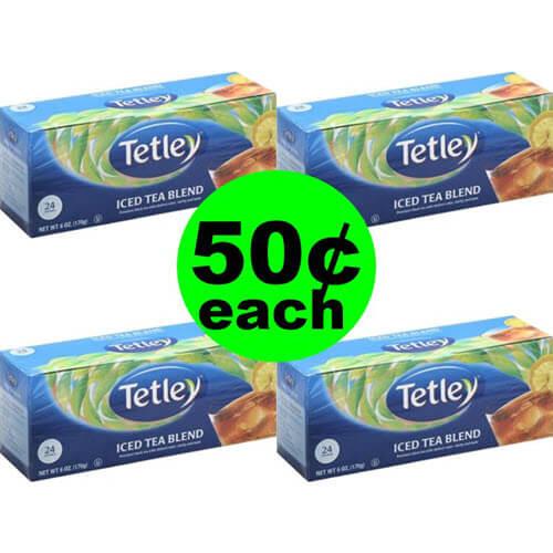 50¢ Tetley Tea Bags 🥤 At Publix (Save 80% Off)!