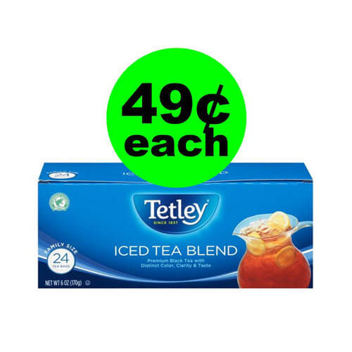 Publix Deal: 🍋 49¢ Tetley Tea Iced Tea Bags (Save 80% Off)! (Ends 11/23)
