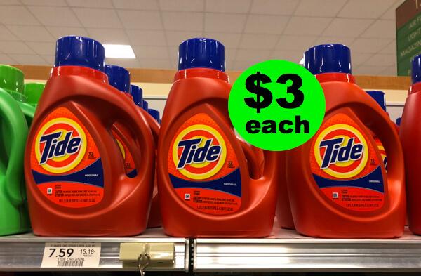 Sneak Peek Deal: $3 Tide Detergent 50 Oz Jugs At Publix (That's Only $.10/oz)! (7/19-7/24 or 7/20-7/25)