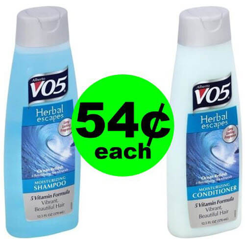 ? Lather Up With 54¢ Alberto VO5 Hair Care At Publix!