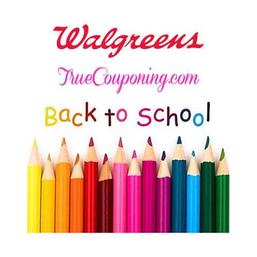 BTS Deals: Walgreens Back To School Deals! (8/19-8/25) 🔔