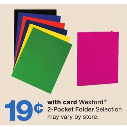19¢ Folders! 📁 Walgreens Back To School Deals (7/15-7/21)