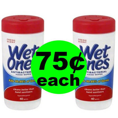 Fox Deal Of The Week: 75¢ Wet Ones Wipes At Publix (After Ibotta)! (Ends 8/10)