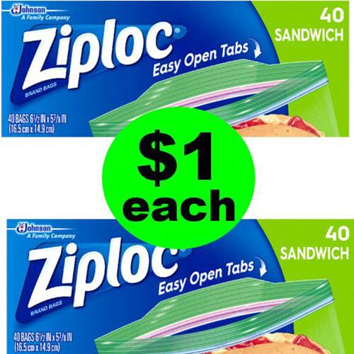 😲 $1 Ziploc Bags At Publix! (7/18 or 7/19-7/22)