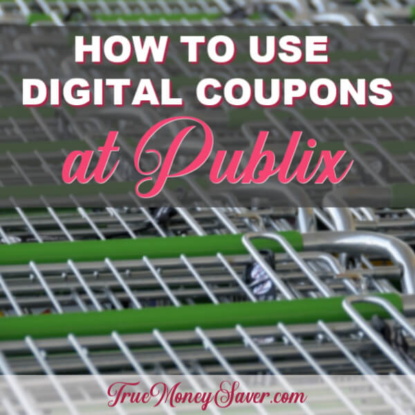 How to Use Digital Coupons at Publix