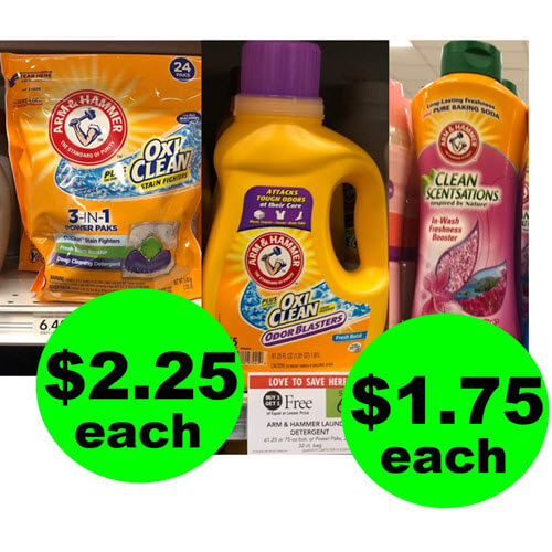 Publix Deal: 🧦 Arm & Hammer Laundry Products As Low As $1.75 Each! (Ends 8/21 or 8/22)