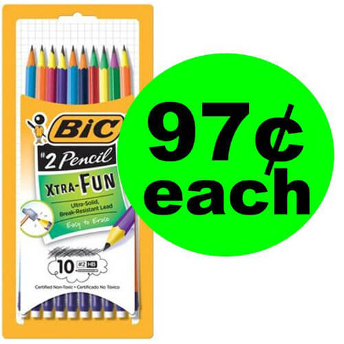 Walmart BTS Deal: 97¢ Bic Xtra-Fun #2 Pencils! 🚌