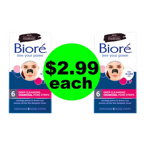 CVS Deal: ?? Biore Pore Strips or Cleansers As Low As $2.99 Each (Save 63% Off)! (9/2-9/8)