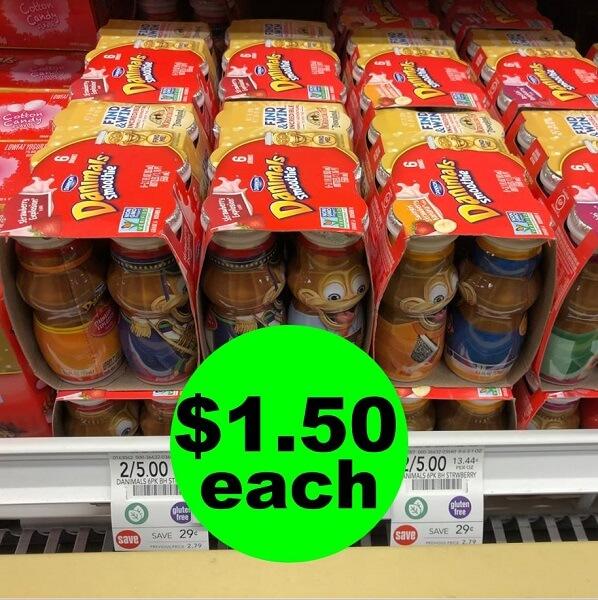 """Publix Deal: """"Clip"""" For $1.50 Danimals Smoothie 6 Packs! (6/22-7/1)"""