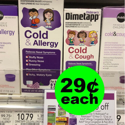 Publix Deal: 👧 29¢ Children's Dimetapp (After Ibotta)! (2/9-2/22)