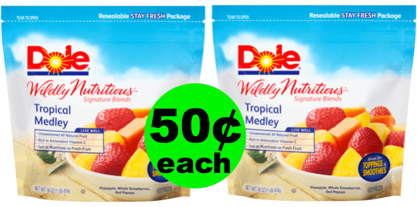 Fox Deal Of The Week: 🍌Dole Frozen Fruit As Low As 50¢ Each (83% Off)! (Ends 1/22 or 1/23)