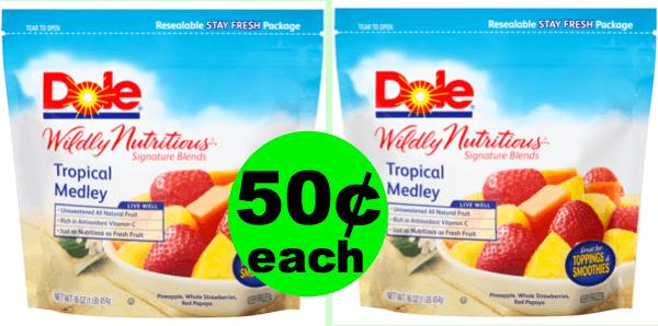 Sneak Peek Publix Deal: 50¢ Dole Frozen Fruit 16 oz Bags (83% Off!) (Starts 8/8 or 8/9)
