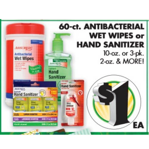 BTS Deal: $1 Antibacterial Wet Wipes at Dollar Tree! 😃