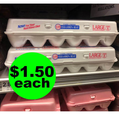 Publix Deal: 🥚 $1.50 Eggland's Best Eggs At Publix! (Ends 4/6)