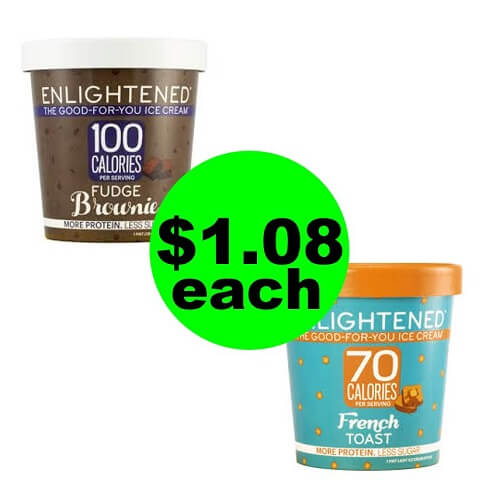 Sneak Peek Publix Deal: ? $1.08 Enlightened Ice Cream Pints (After Ibotta)! (10/31-11/6 or 11/1-11/7)