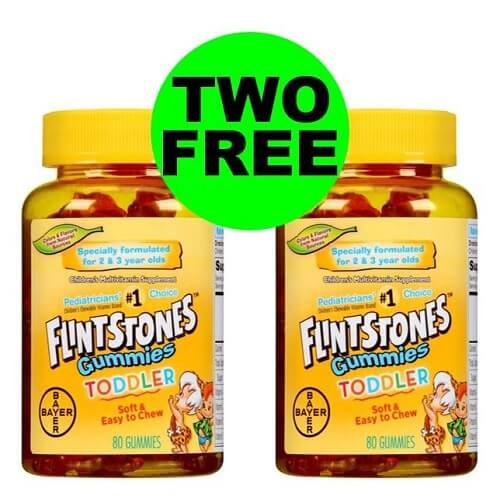Sneak Peek Publix Deal: (2) FREE + $1.82 Money Maker On Flintstones Vitamins! (1/8 Or 1/9-1/10)