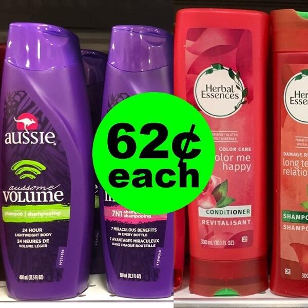 Publix Deal: 👩🚀 62¢ Herbal Essences & Aussie Hair Care! (Ends 3/22)