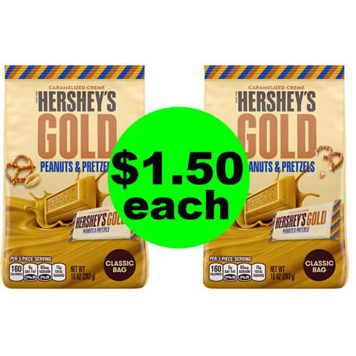 CVS Deal: Print For $1.50 Hershey's Gold Bags! 🍫 (9/16-9/22)