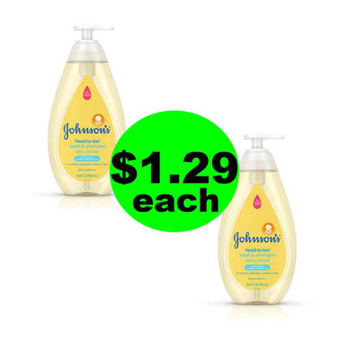 Publix Deal: 👶🏽 $1.29 Johnson's Baby Head To Toe Wash! (8/29-8/24)