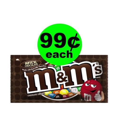 CVS Deal: 😍 99¢ M&M's Candy Bag! (8/19-8/25)