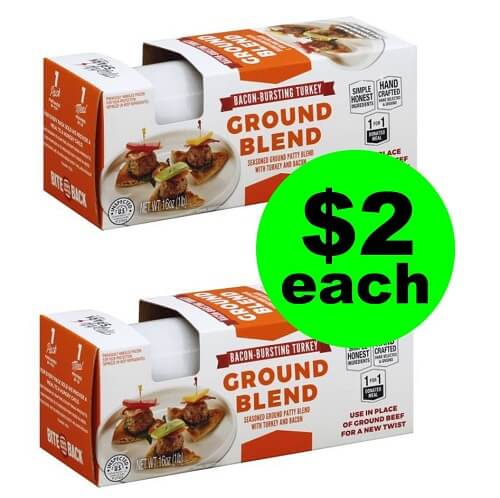 Publix Deal: 😋 $2 Mighty Spark Ground Meat! (1/2-1/8 or 1/3-1/9)