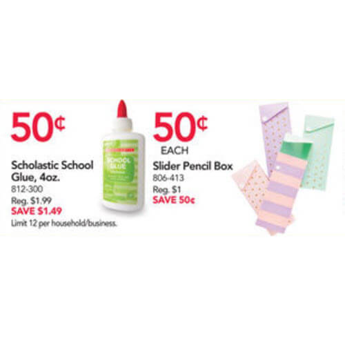 BTS Deal: ✏️ 50¢ Slider Pencil Boxes At Office Depot/Office Max! (8/19-8/25)