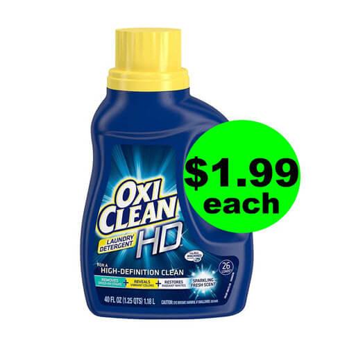 CVS Deal: 🧦 $1.99 OxiClean Detergent! (5/19-5/25)