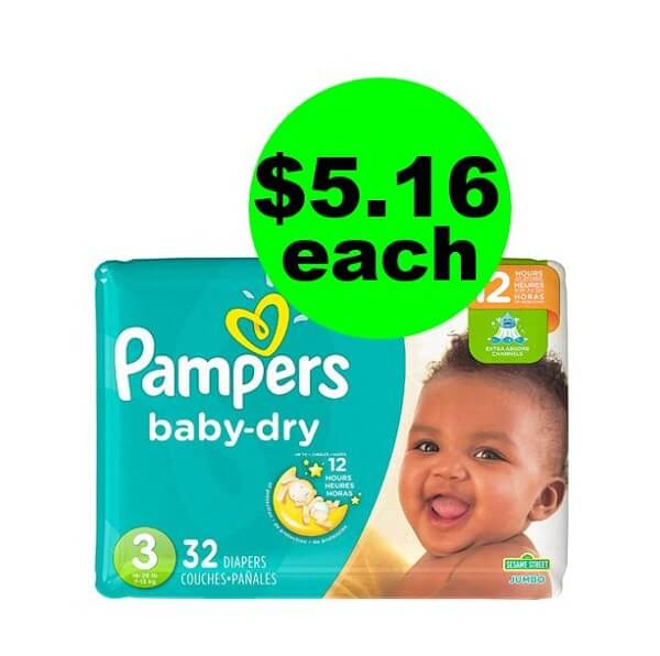 CVS Deal: 👶 $5.16 Pampers Diapers! (4/28-5/4)