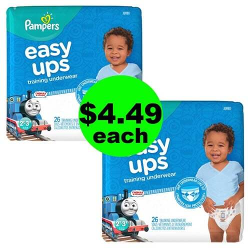 CVS Deal: ?? $4.49 Pampers Easy Ups! (8/26-9/1)