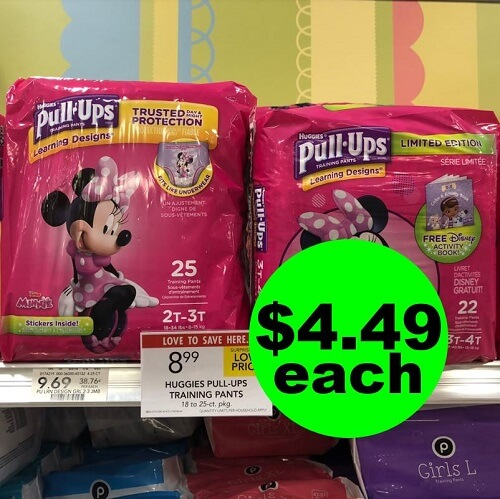 Publix Deal: 🐤 $4.49 Pull-Ups Diapers (After Ibotta)! (Ends 1/22 or 1/23)