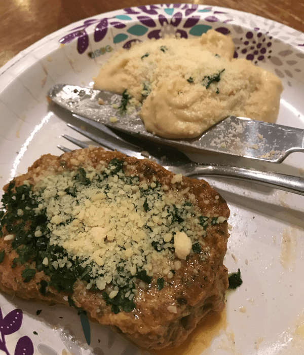 """Save Time & Money With This Low Carb """"Breaded"""" Pork Chops Recipe (Or Chicken)"""