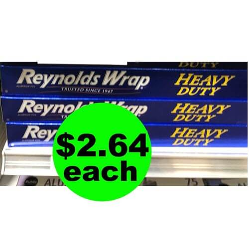 Publix Deal: ? $2.64 Reynolds Wrap Heavy Duty Aluminum Foil (Save 61% Off)! (8/29-9/4 or 8/30-9/5)