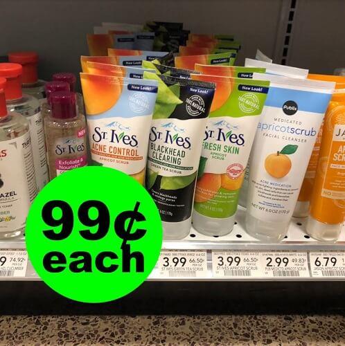 Publix Deal: 🦄 99¢ St. Ives Facial Scrubs! (1/6-1/11)