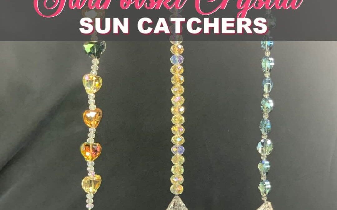 How To Make The Best Swarovski Crystal Sun Catcher Gift {Homemade Christmas DIY Gift #22}