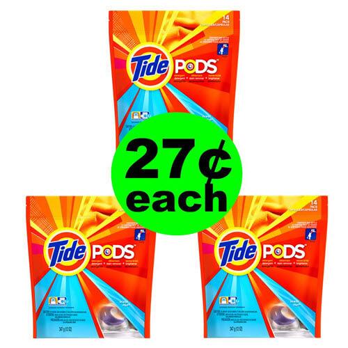 CVS Deal: 👕 27¢ Tide Pods! (8/12-8/18)